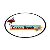 Cocoa Beach - Beach Design. Wall Decal