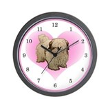 Lhasa Lover Clock