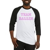 Pink team Dallin Baseball Jersey
