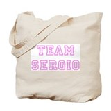 Pink team Sergio Tote Bag