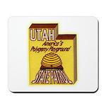 Utah State Patrol Polygamy Playground Mousepad