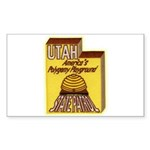 Utah State Patrol Polygamy Playground Sticker (Rec