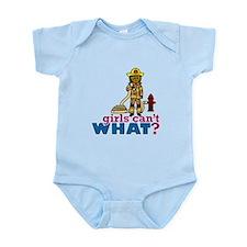 Firefighter Women Infant Bodysuit