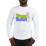Happy Easter Bunny Spring Long Sleeve T-Shirt