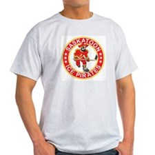 Saskatoon Ice Pirates Ash Grey T-Shirt