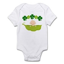 Irish Baby St Patricks Pea Pod Infant Bodysuit