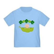 Irish Baby St Patricks Pea Pod T