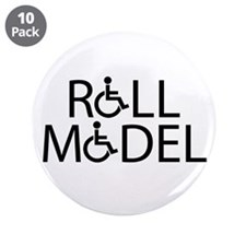 "Roll Model 3.5"" Button (10 pack)"