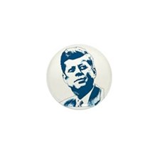 John F Kennedy Tribute Mini Button (10 pack)