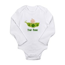 Personalized St Patricks Baby Long Sleeve Infant B
