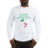 Italian Proverb Lies Long Sleeve T-Shirt