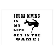 Scuba Diving Is My Life Invitations