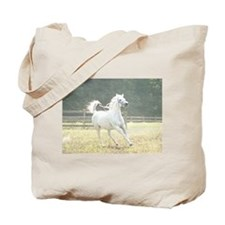 White arabian Tote Bag