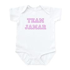 Pink team Jamar Infant Bodysuit
