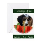 English Setter Greeting Card