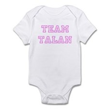 Pink team Talan Infant Bodysuit
