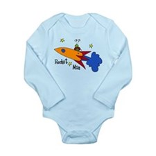 Rocket Man Long Sleeve Infant Bodysuit
