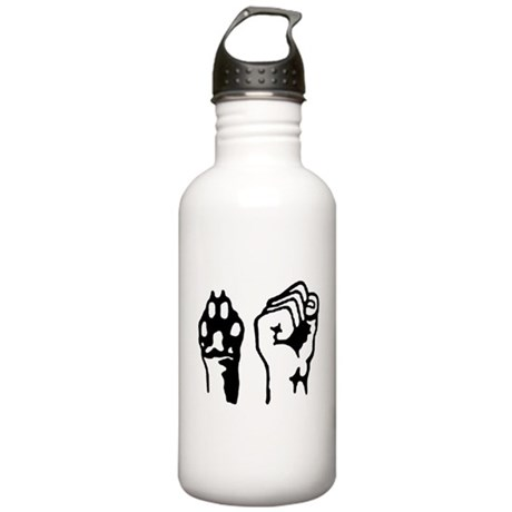 Animal and Human liberation. Stainless Water Bottl
