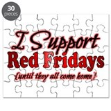 I support Red Fridays Puzzle