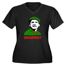 Obamunist Communist Republican Shirt Women's Plus