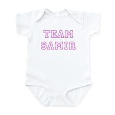 Pink team Samir Infant Bodysuit