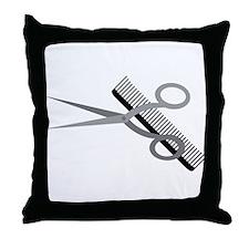 Who Needs a Haircut? Throw Pillow