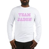 Pink team Jadon Long Sleeve T-Shirt