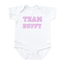 Pink team Buffy Infant Bodysuit