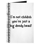 Childish Doody Head Journal