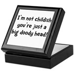 Childish Doody Head Keepsake Box