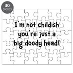Childish Doody Head Puzzle