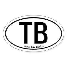 Tampa Bay, Florida Oval Decal