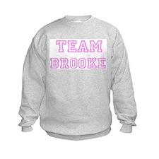 Pink team Brooke Sweatshirt