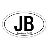 Juno Beach Oval Decal