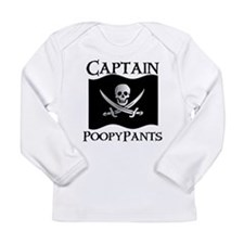 Captain Poopypants Long Sleeve T-Shirt
