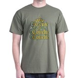 KoCC-CrownLogo-Gold T-Shirt