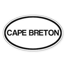 Cape Breton Island Decal