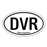 Dover, Delaware Oval Decal