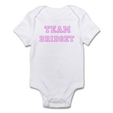 Pink team Bridget Infant Bodysuit