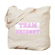 Pink team Bridget Tote Bag