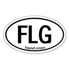 Flagstaff, Arizona Oval Decal