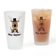 Now Dasher Drinking Glass