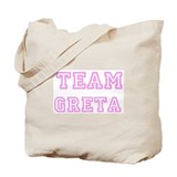 Pink team Greta Tote Bag