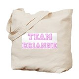 Pink team Brianne Tote Bag
