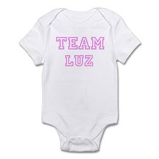 Pink team Luz Infant Bodysuit