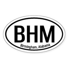 Birmingham, Alabama Oval Decal