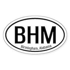 Birmingham, Alabama Oval Decal