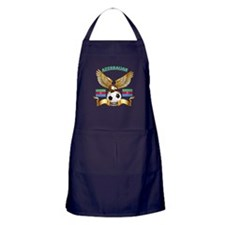 Azerbaijan Football Design Apron (dark)