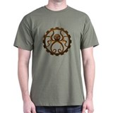 steampunk octo-gear shirt
