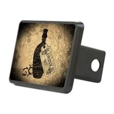 Drink Me Bottle Worn Rectangular Hitch Cover